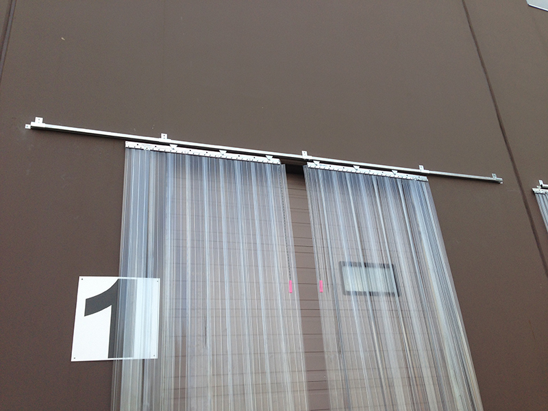 industrial strip door curtains australia