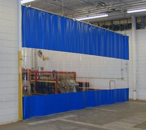 PVC Strip Curtains Industrial UK Welding